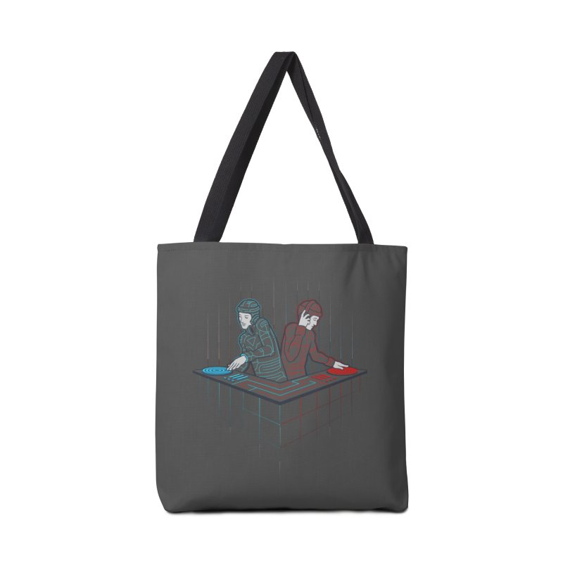 Techno-tron-ic Accessories Bag by Tom Burns