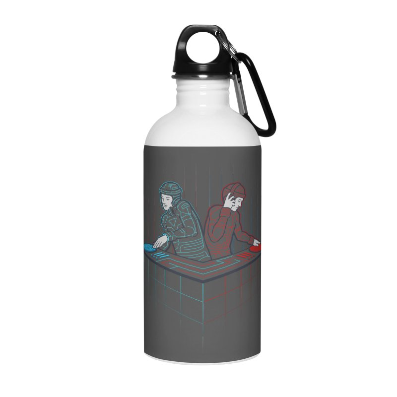 Techno-tron-ic Accessories Water Bottle by Tom Burns