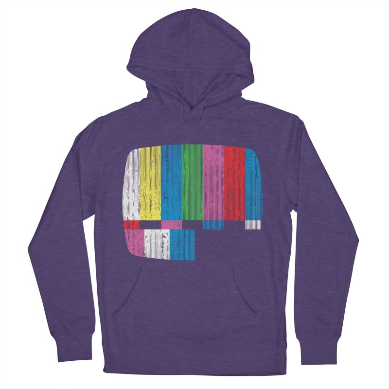 Test Pattern Men's Pullover Hoody by Tom Burns