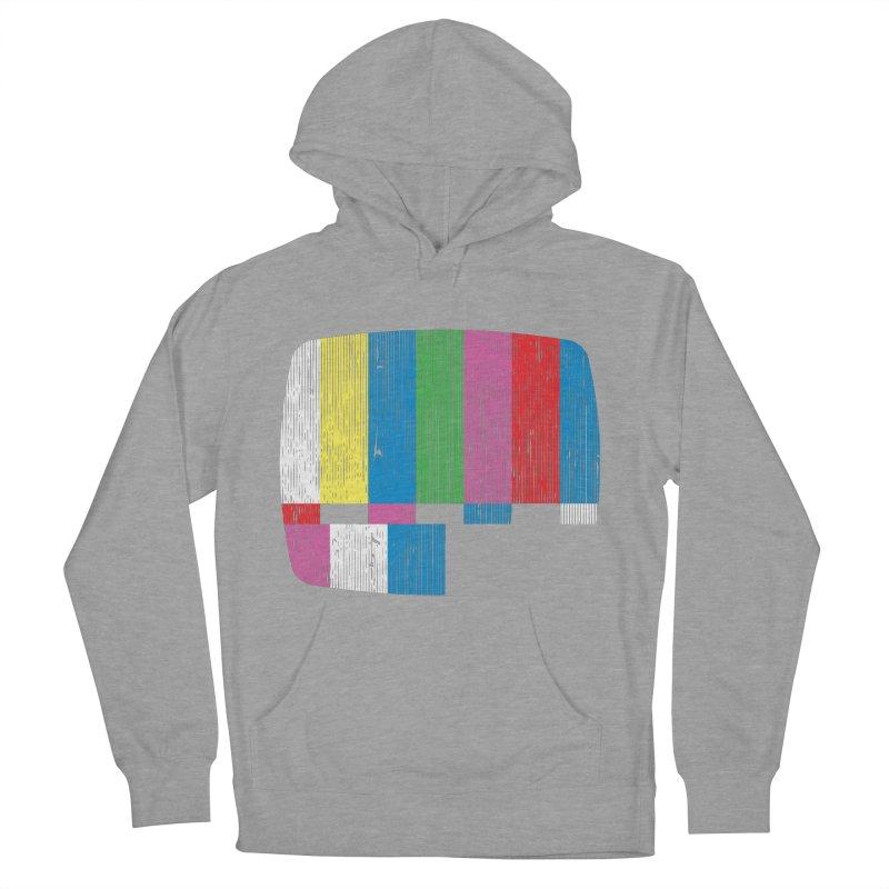 Test Pattern Men's Pullover Hoody by Tom Burns