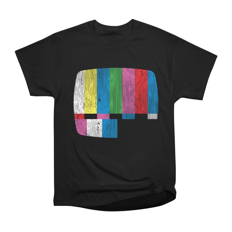 Test Pattern Women's Classic Unisex T-Shirt by Tom Burns