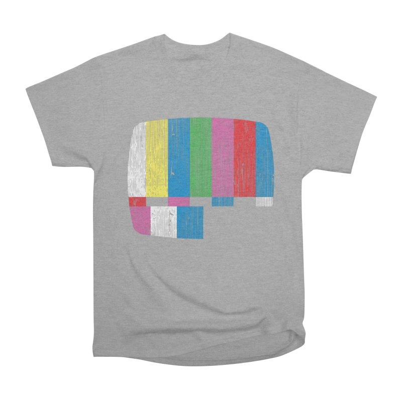 Test Pattern Women's Classic Unisex T-Shirt by Tom Burns
