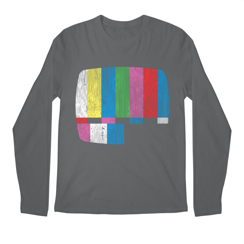 Test Pattern Men's Longsleeve T-Shirt by Tom Burns