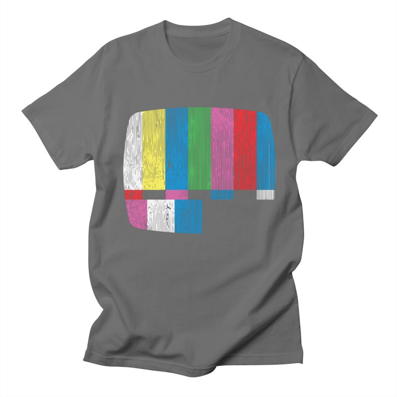 Test Pattern Men's T-Shirt by Tom Burns