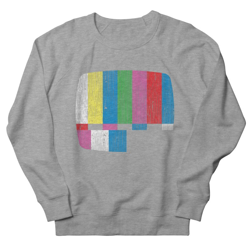 Test Pattern Women's Sweatshirt by Tom Burns