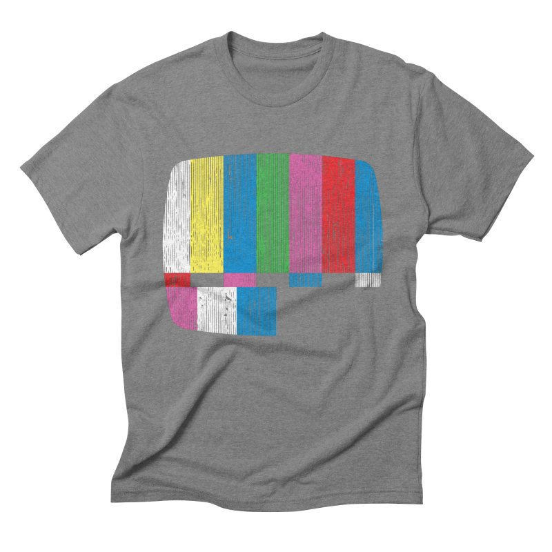 Test Pattern Men's Triblend T-Shirt by Tom Burns