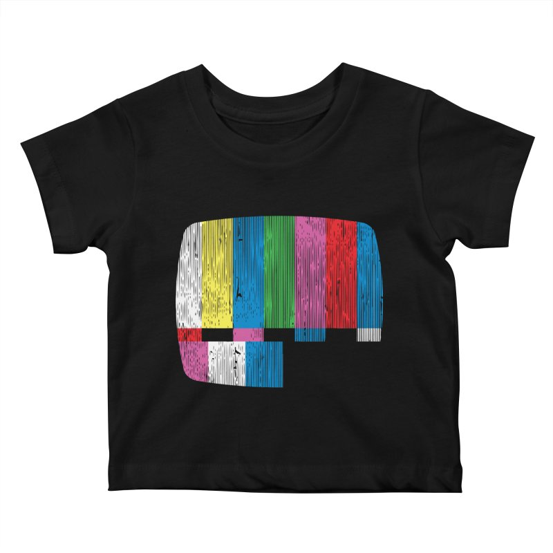 Test Pattern Kids Baby T-Shirt by Tom Burns
