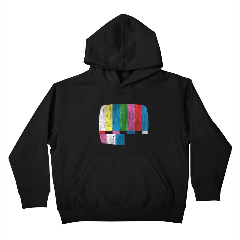 Test Pattern Kids Pullover Hoody by Tom Burns