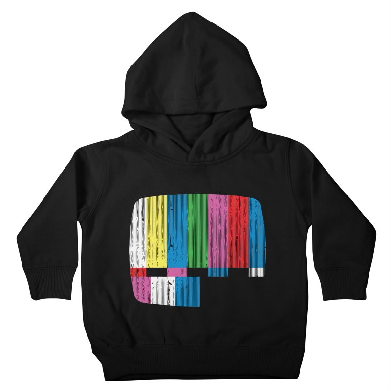 Test Pattern Kids Toddler Pullover Hoody by Tom Burns