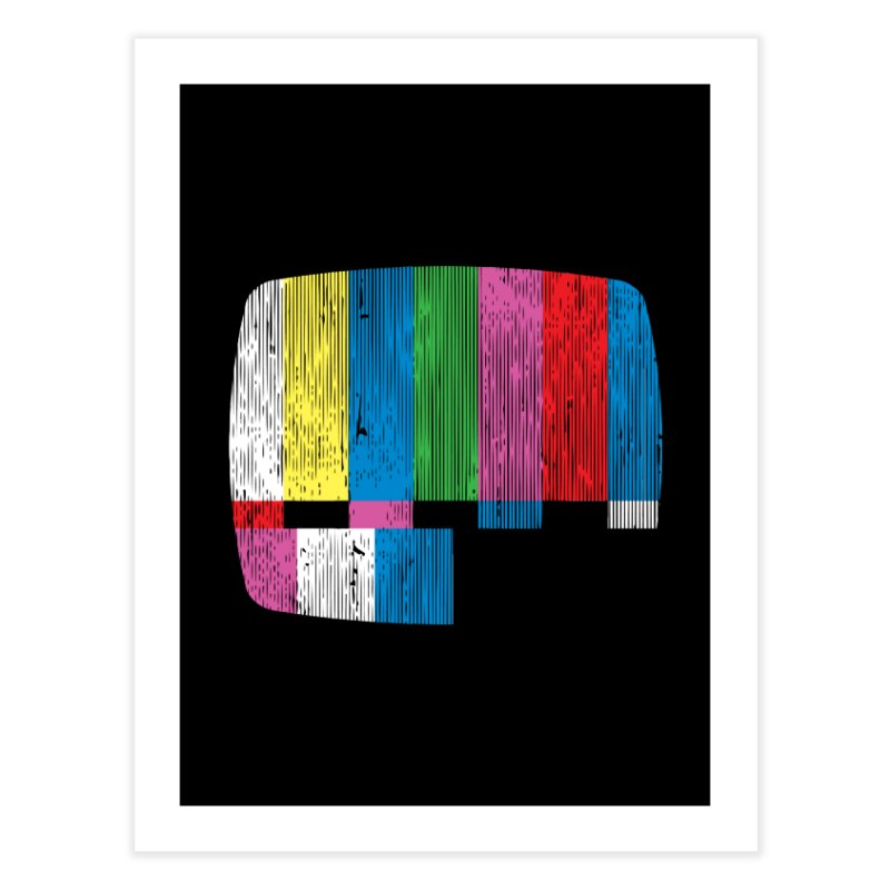 Test Pattern Home Fine Art Print by Tom Burns