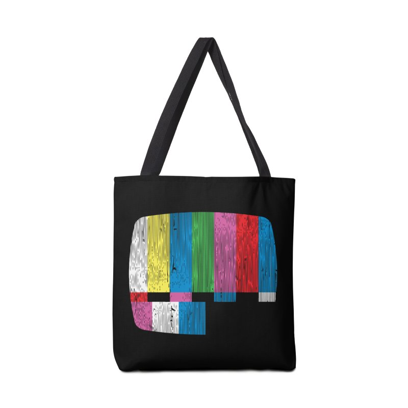 Test Pattern Accessories Bag by Tom Burns