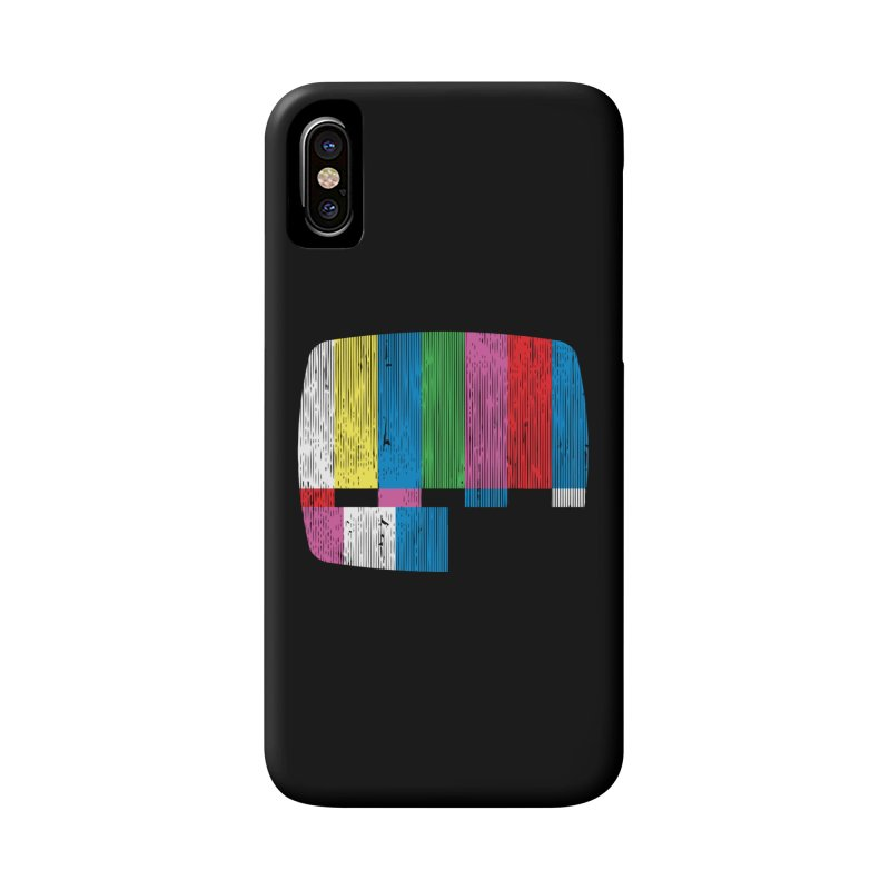 Test Pattern Accessories Phone Case by Tom Burns