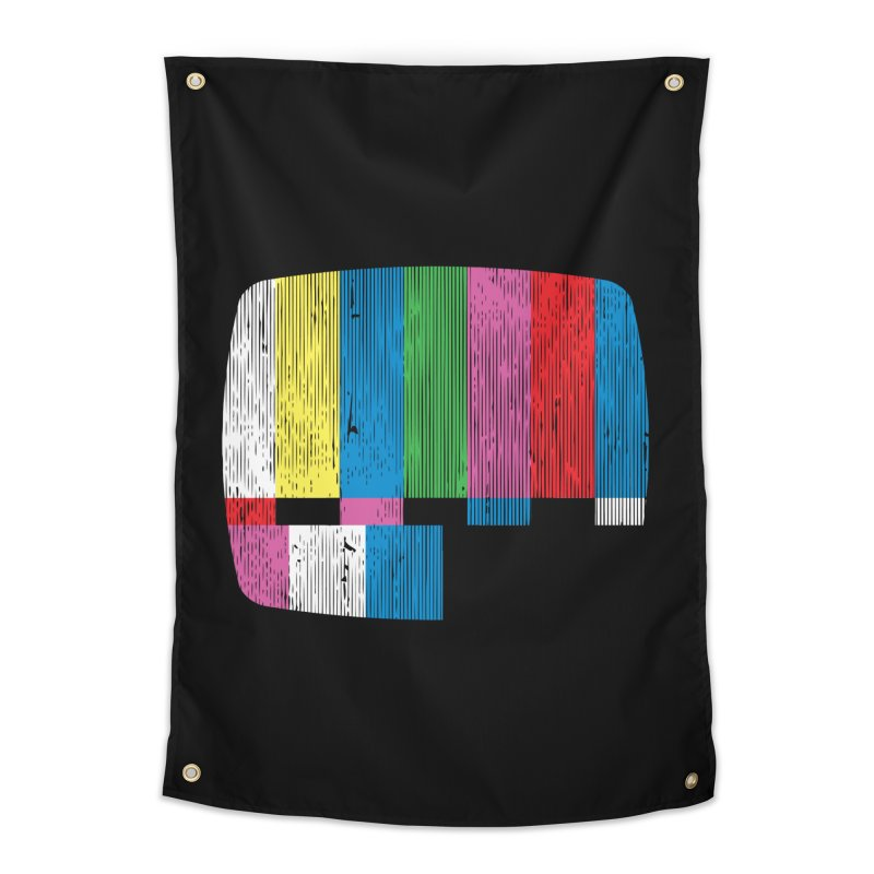 Test Pattern Home Tapestry by Tom Burns