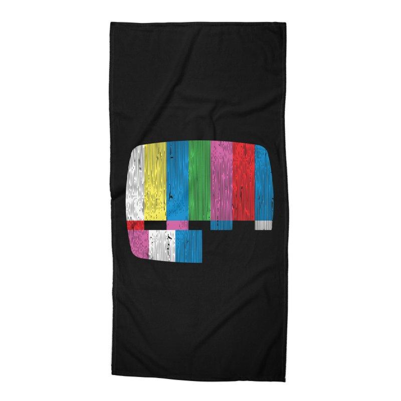 Test Pattern Accessories Beach Towel by Tom Burns