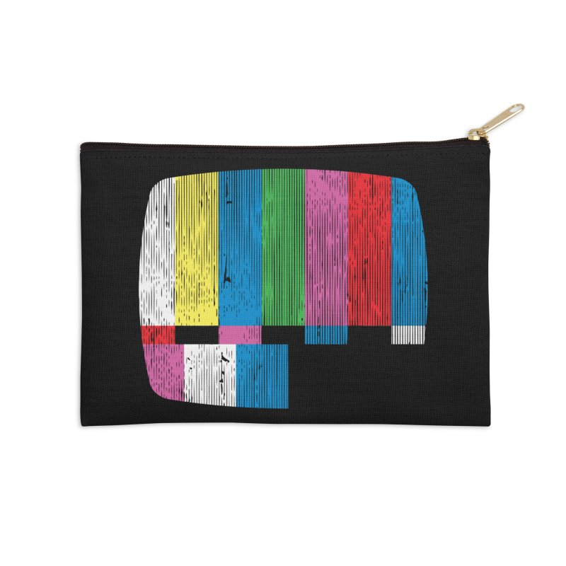 Test Pattern Accessories Zip Pouch by Tom Burns