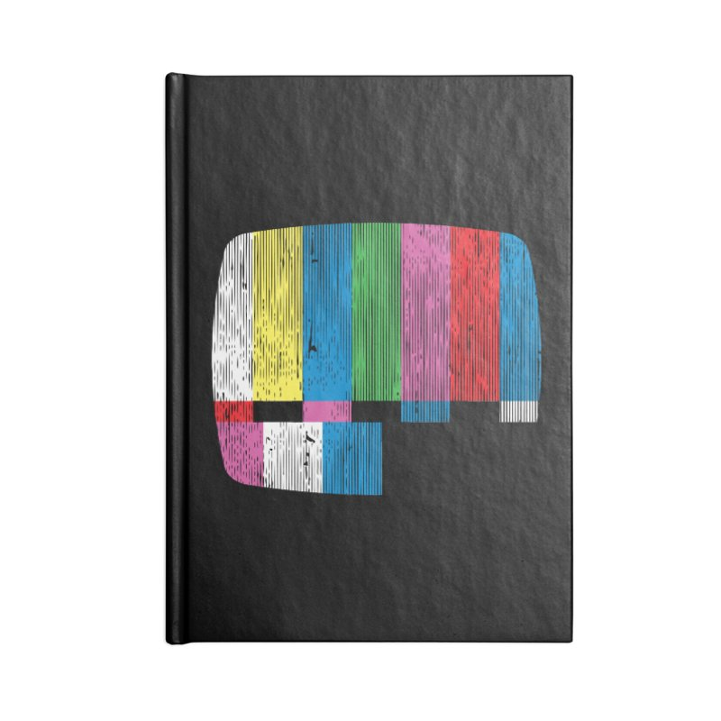 Test Pattern Accessories Notebook by Tom Burns