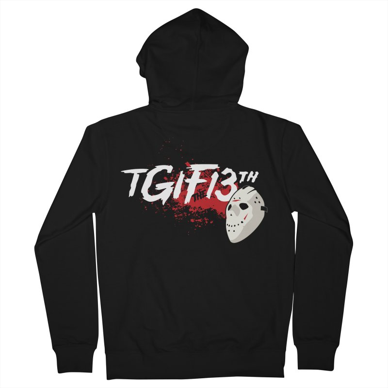TGIFthe13th Women's Zip-Up Hoody by Tom Burns