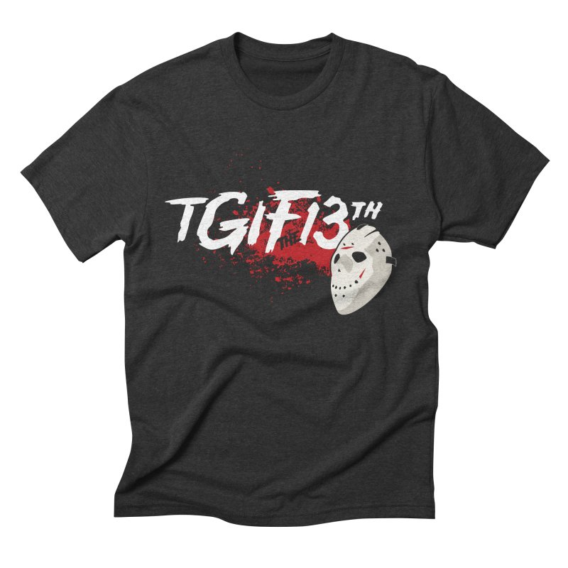 TGIFthe13th Men's Triblend T-Shirt by Tom Burns