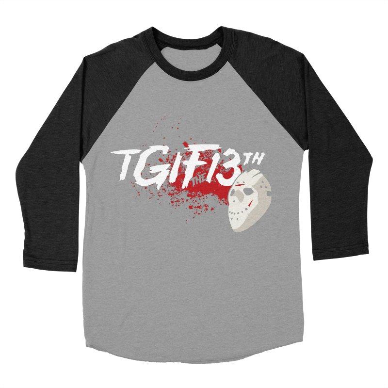 TGIFthe13th Women's Baseball Triblend T-Shirt by Tom Burns