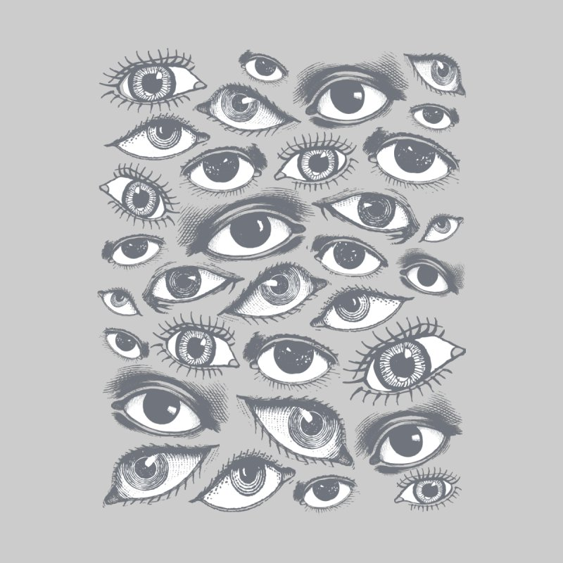 The Eyes Have It Men's Baseball Triblend T-Shirt by Tom Burns