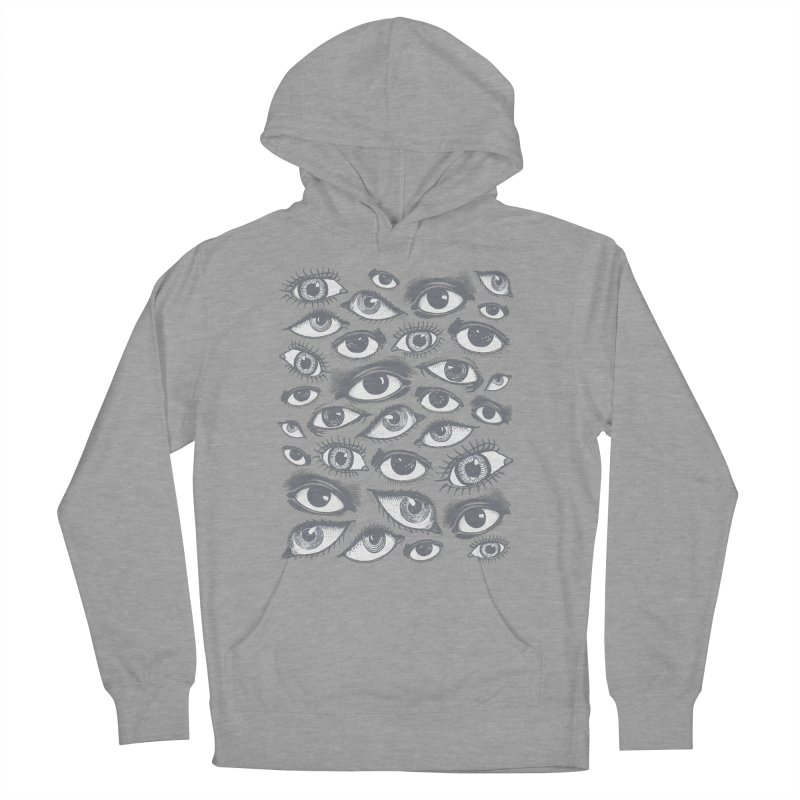 The Eyes Have It Women's French Terry Pullover Hoody by Tom Burns
