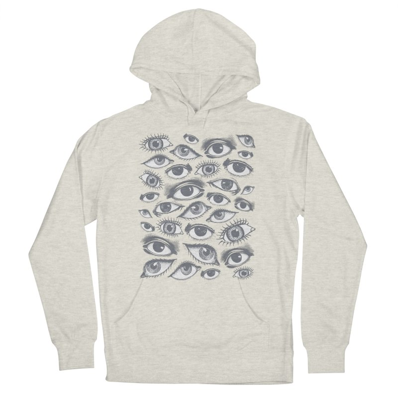 The Eyes Have It Men's French Terry Pullover Hoody by Tom Burns