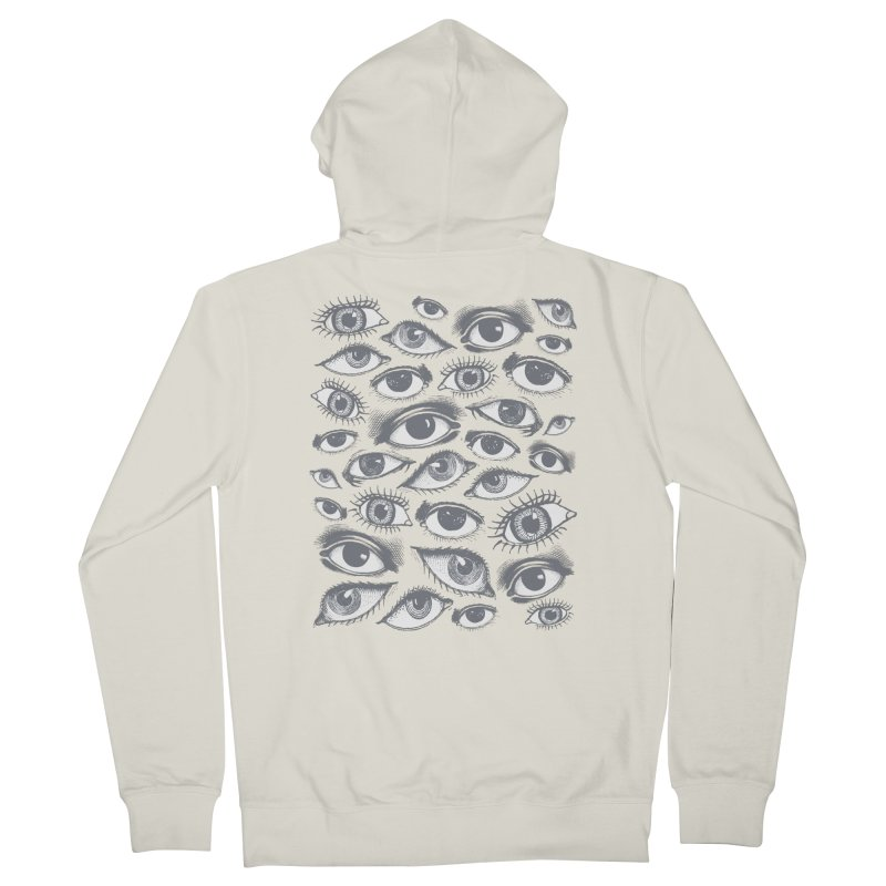The Eyes Have It Women's Zip-Up Hoody by Tom Burns