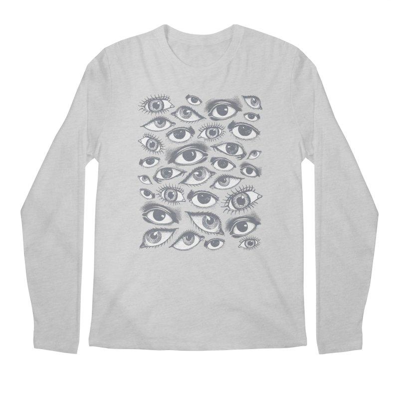 The Eyes Have It Men's Longsleeve T-Shirt by Tom Burns