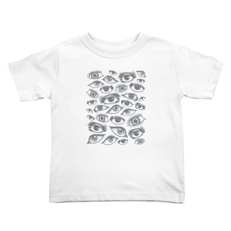 The Eyes Have It Kids Toddler T-Shirt by Tom Burns