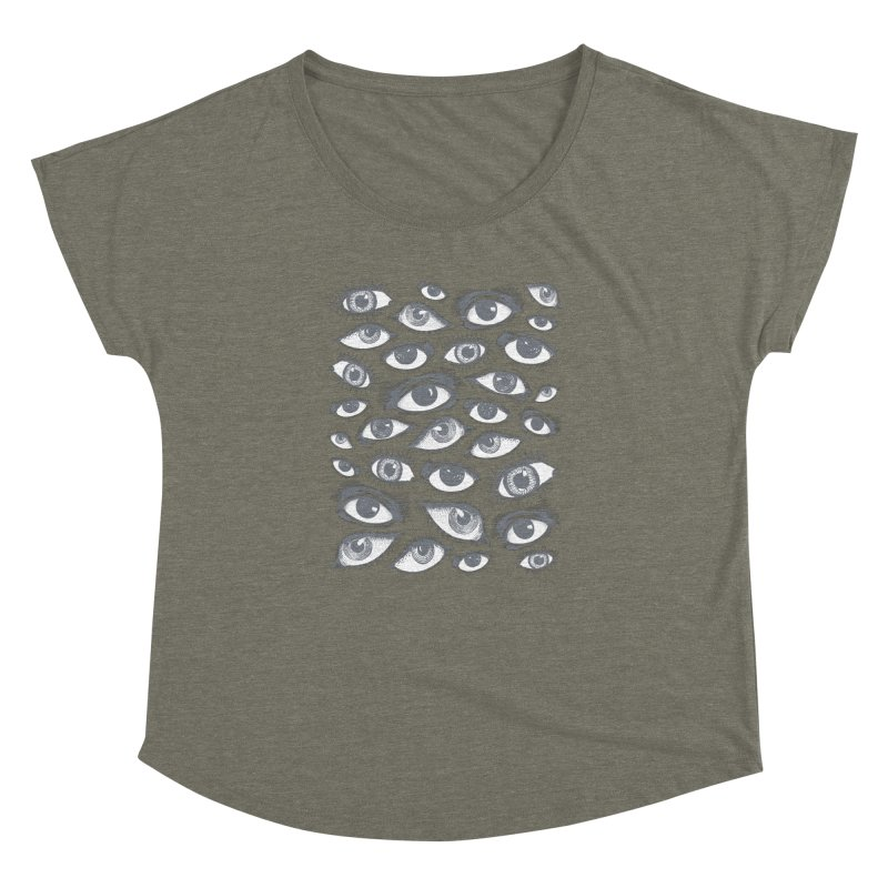 The Eyes Have It Women's Dolman by Tom Burns