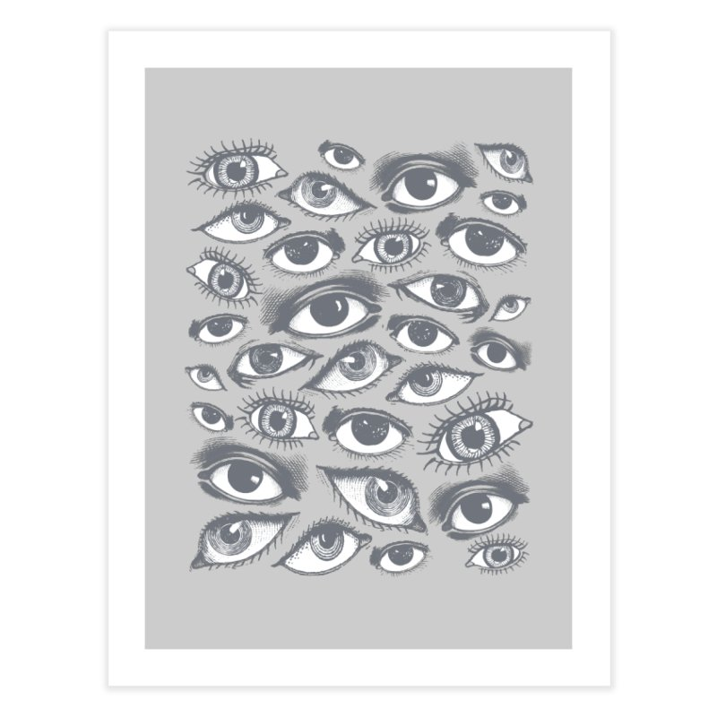 The Eyes Have It Home Fine Art Print by Tom Burns