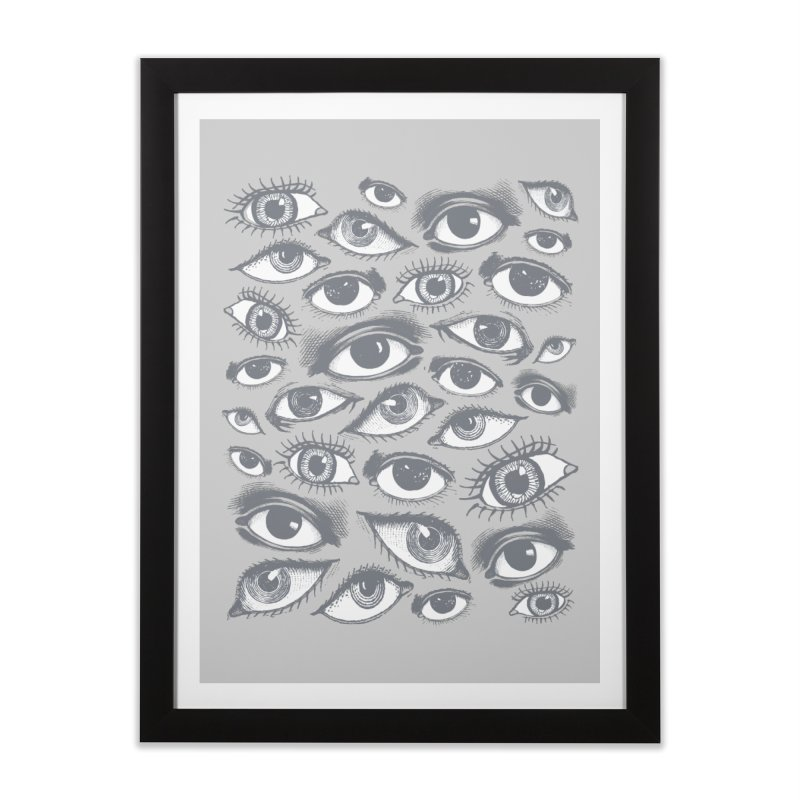 The Eyes Have It Home Framed Fine Art Print by Tom Burns