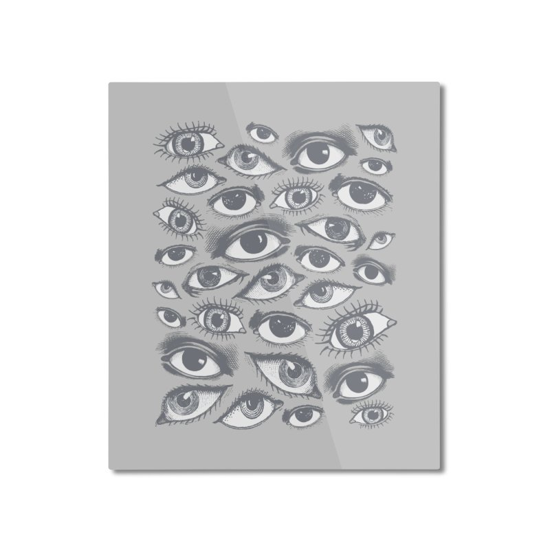 The Eyes Have It Home Mounted Aluminum Print by Tom Burns