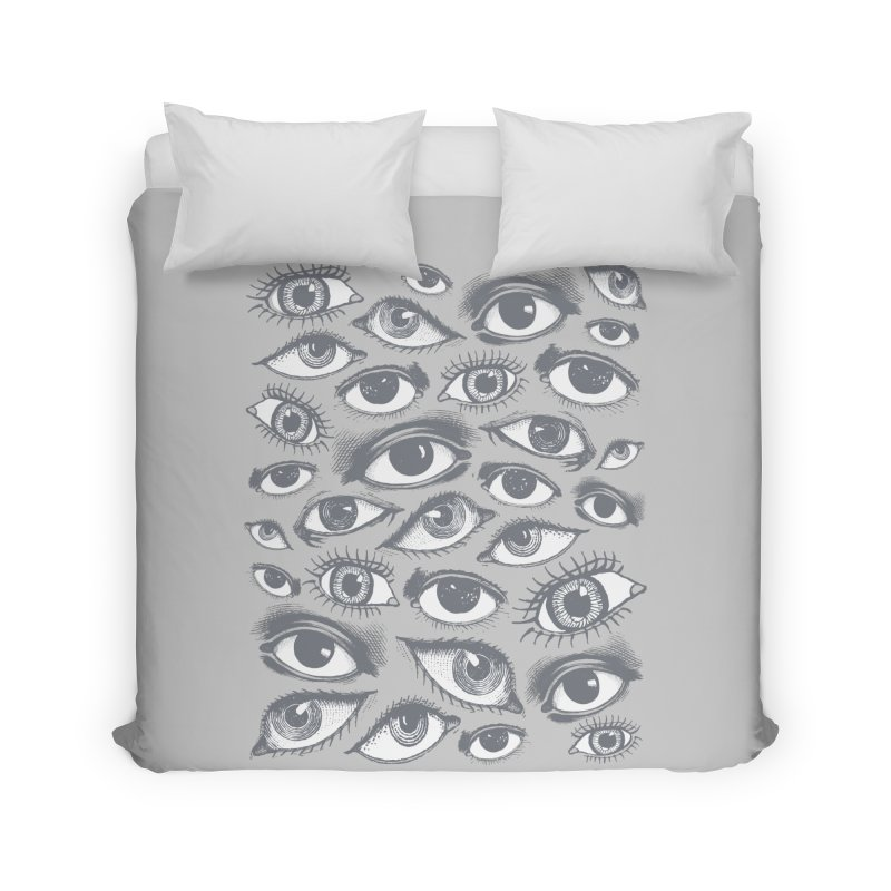 The Eyes Have It Home Duvet by Tom Burns