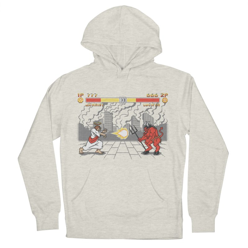 The Final Battle Men's French Terry Pullover Hoody by Tom Burns