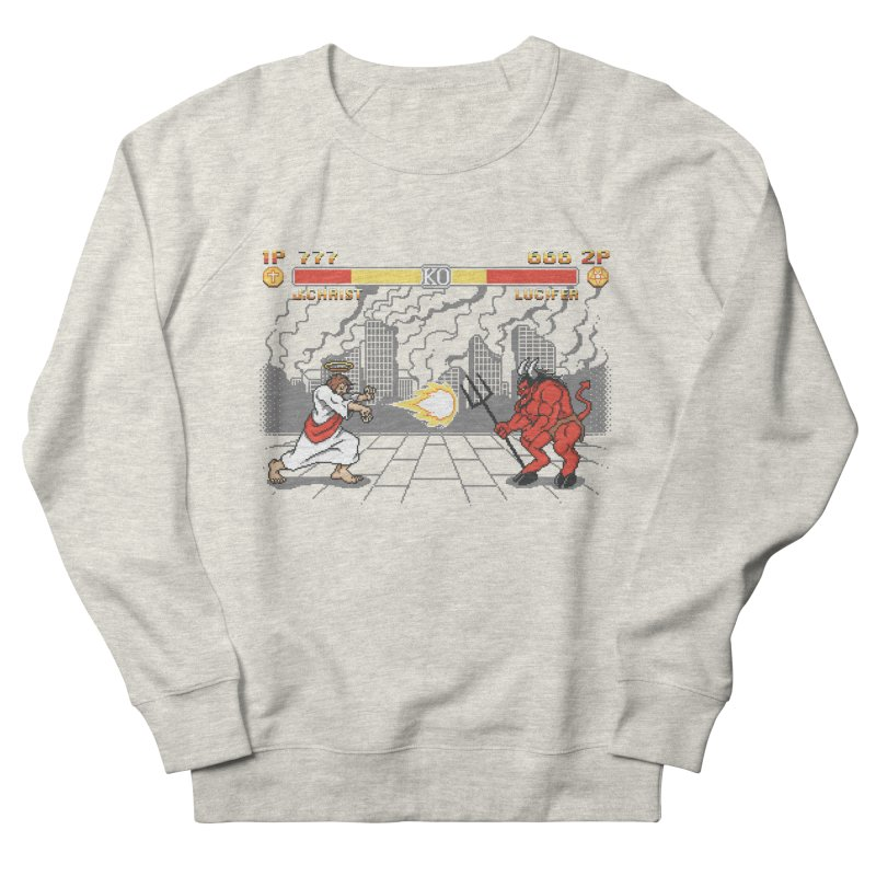 The Final Battle Men's Sweatshirt by Tom Burns