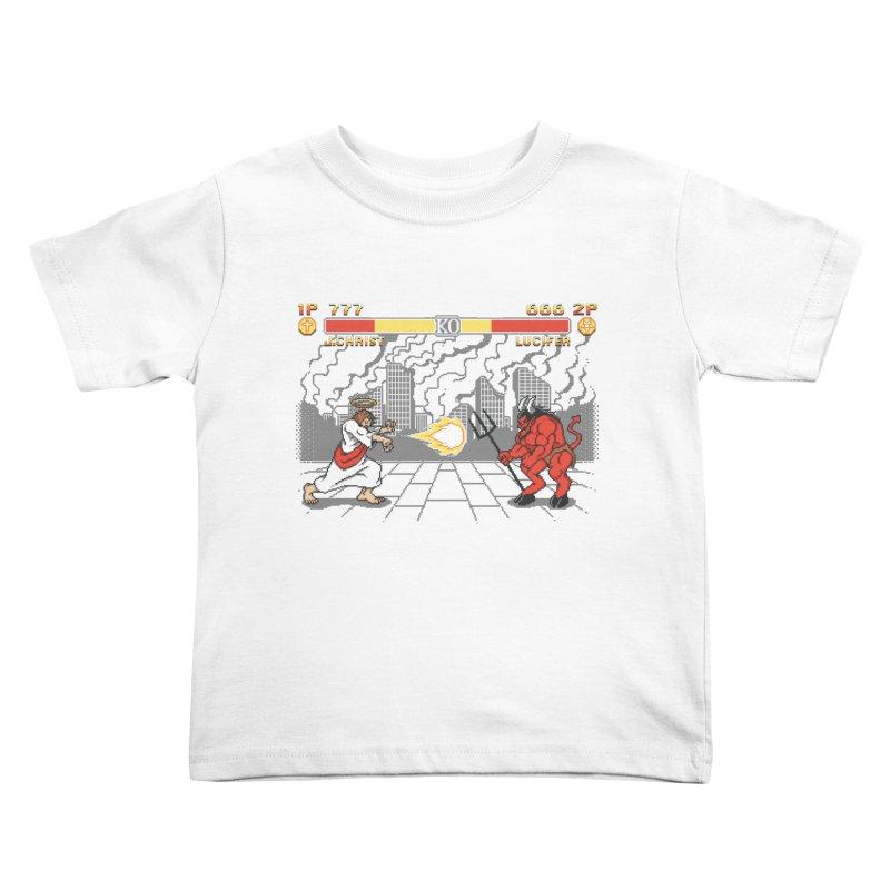 The Final Battle Kids Toddler T-Shirt by Tom Burns