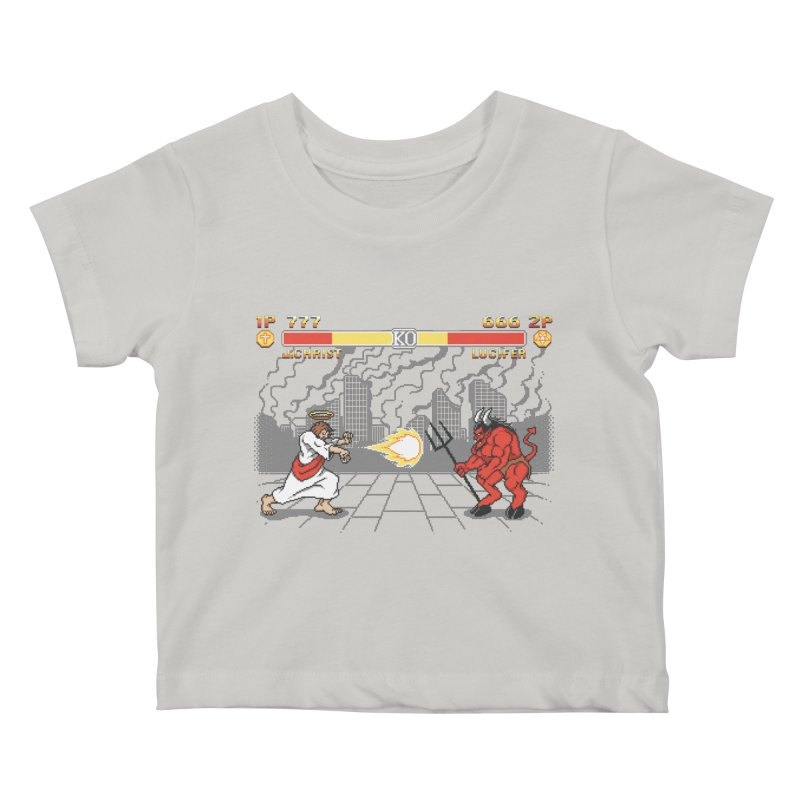 The Final Battle Kids Baby T-Shirt by Tom Burns