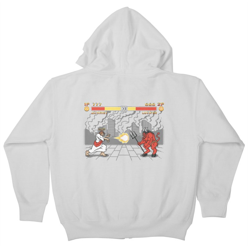 The Final Battle Kids Zip-Up Hoody by Tom Burns