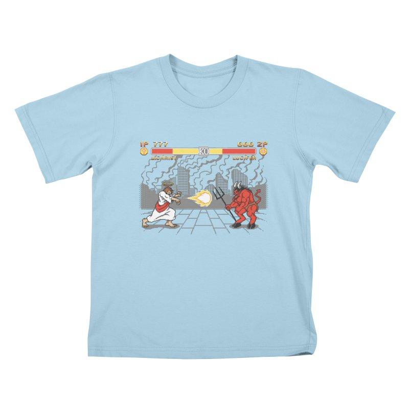 The Final Battle Kids T-shirt by Tom Burns
