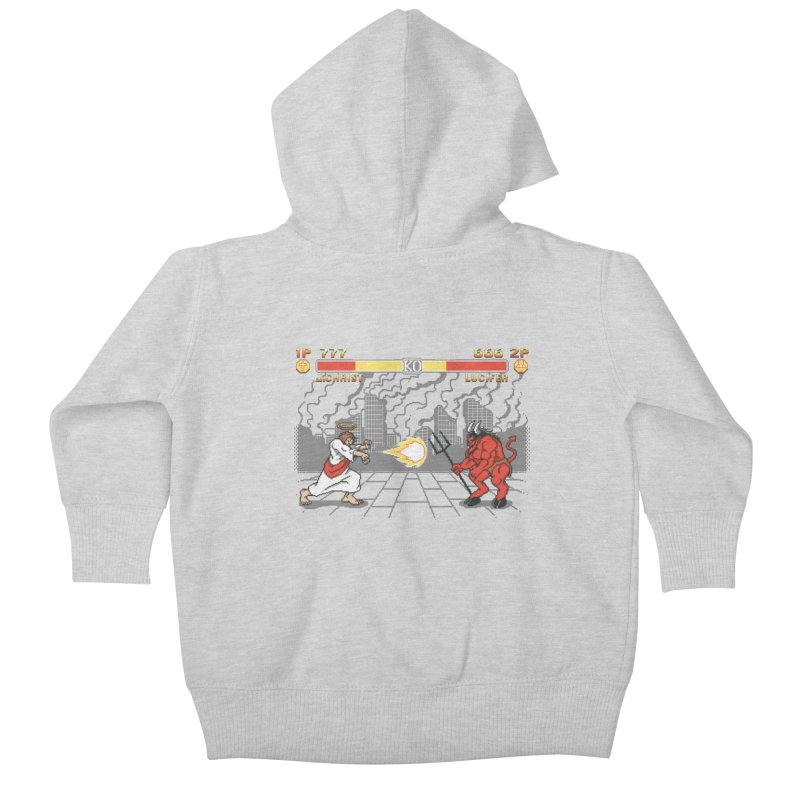 The Final Battle Kids Baby Zip-Up Hoody by Tom Burns