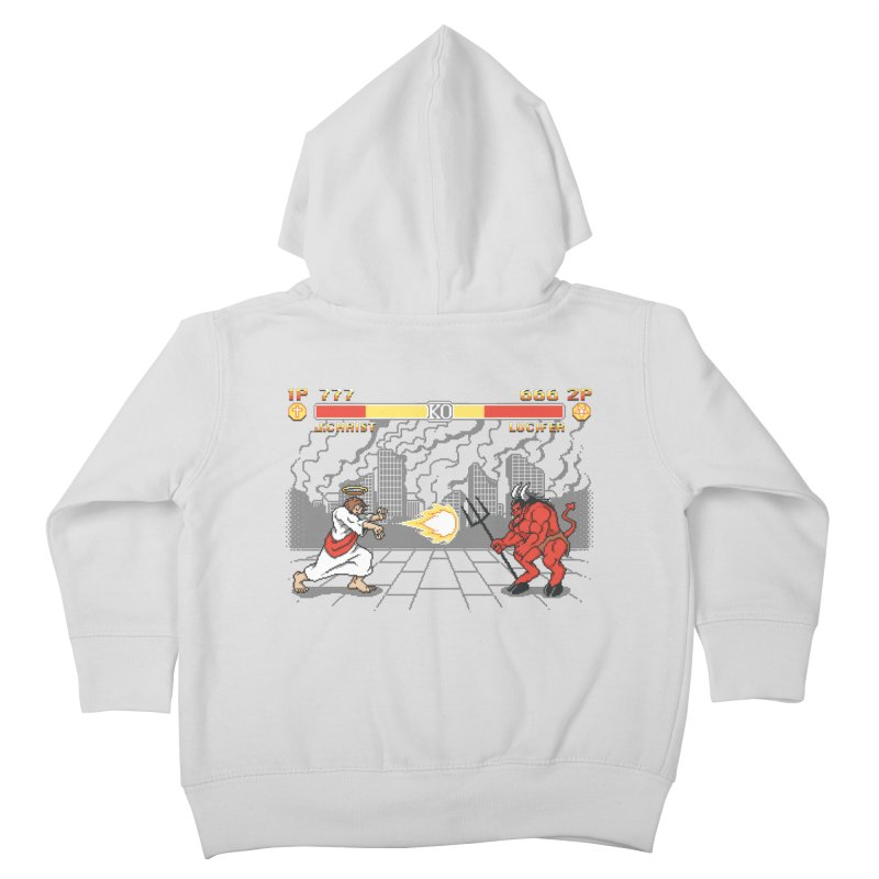 The Final Battle Kids Toddler Zip-Up Hoody by Tom Burns