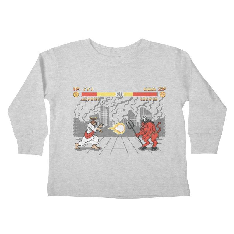 The Final Battle Kids Toddler Longsleeve T-Shirt by Tom Burns