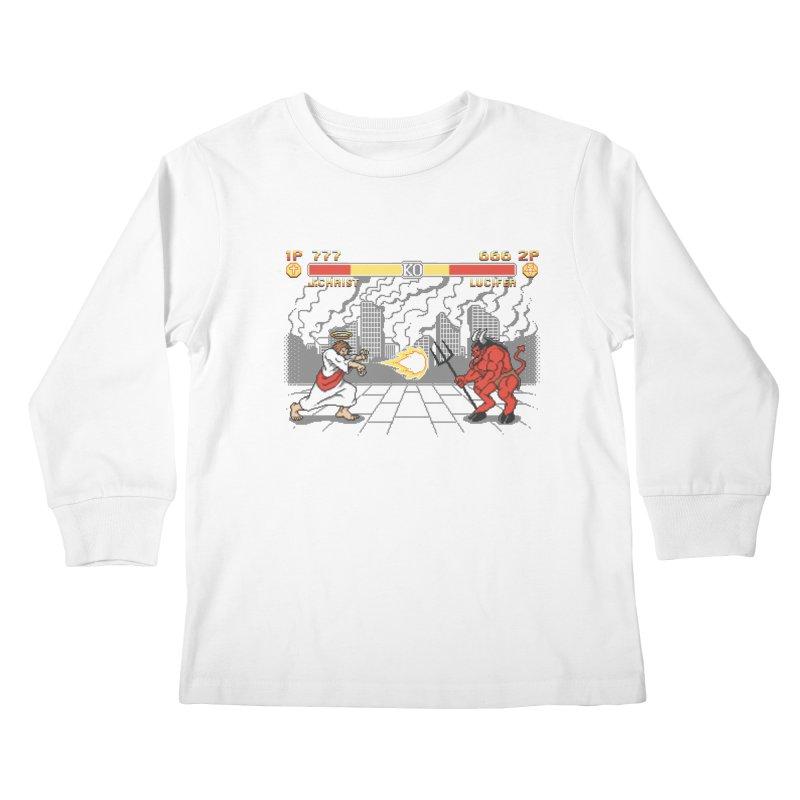 The Final Battle Kids Longsleeve T-Shirt by Tom Burns