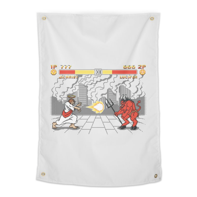 The Final Battle Home Tapestry by Tom Burns