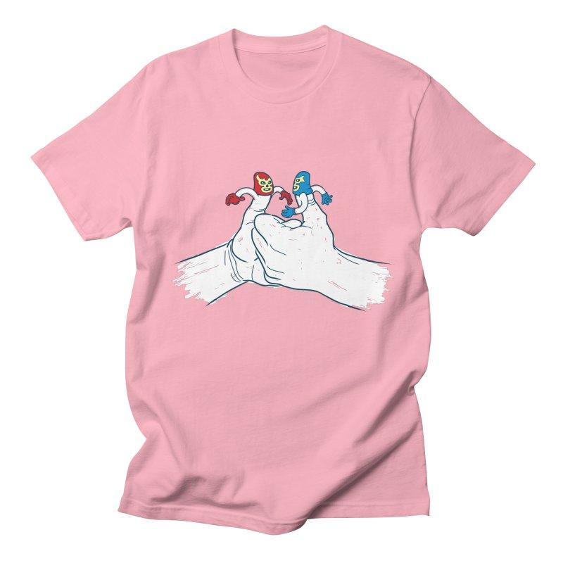 Thumb Wrestlers Women's Regular Unisex T-Shirt by Tom Burns