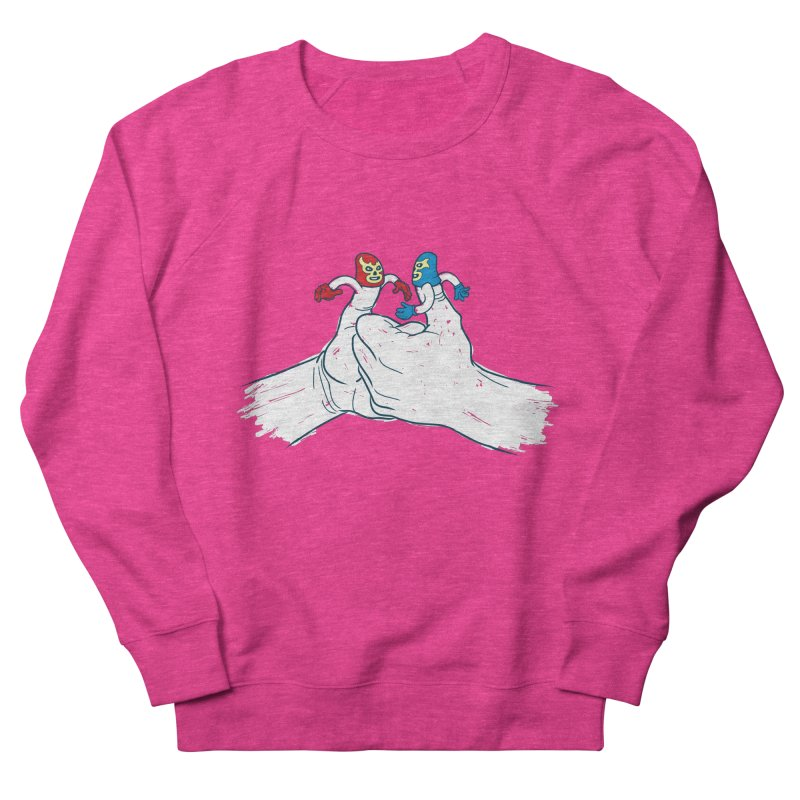 Thumb Wrestlers Women's Sweatshirt by Tom Burns