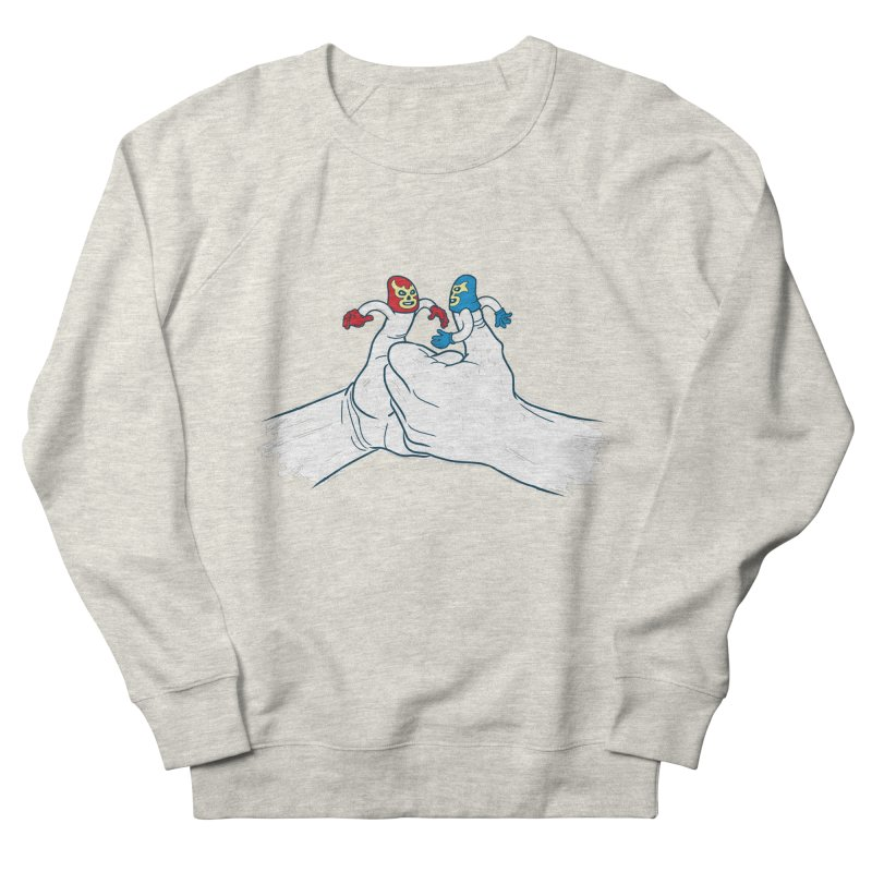 Thumb Wrestlers Men's French Terry Sweatshirt by Tom Burns