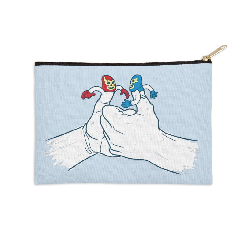 Thumb Wrestlers Accessories Zip Pouch by Tom Burns