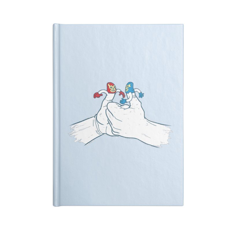 Thumb Wrestlers Accessories Notebook by Tom Burns